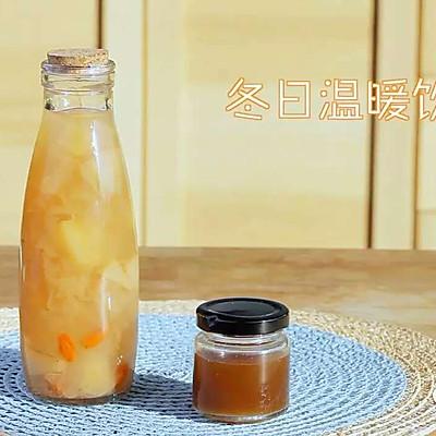 冬日温暖饮品(银耳枸杞梨汤+冬瓜茶)