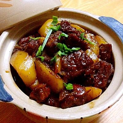 红烧牛腩&土豆