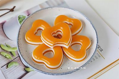 芒果椰浆凉糕