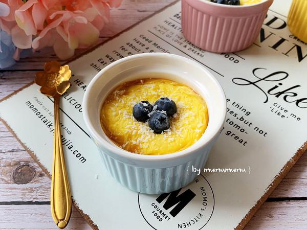 嫩滑细腻的蛋奶布丁#春季减肥,边吃边瘦#