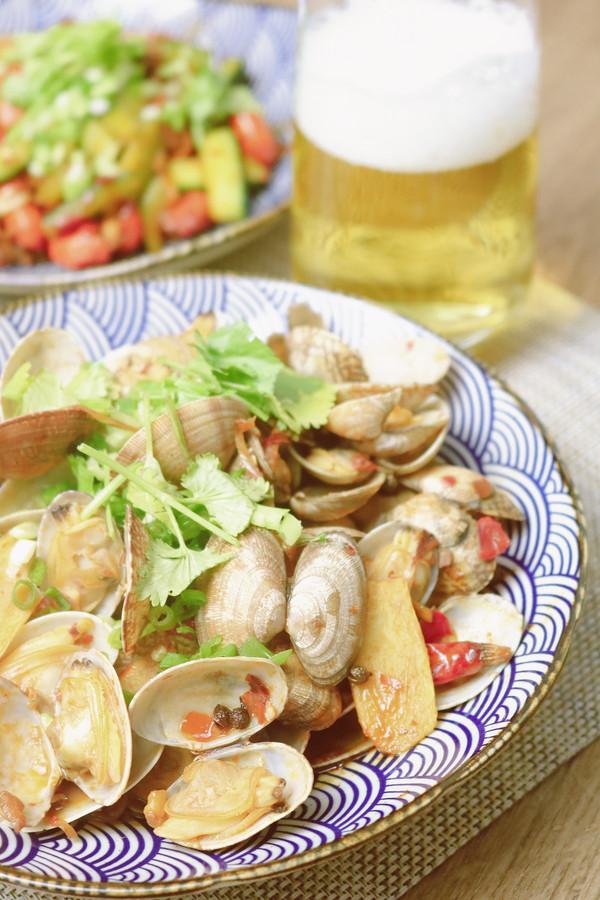 下酒菜·香辣花蛤的做法