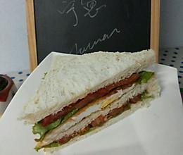 减肥餐  低脂三明治的做法