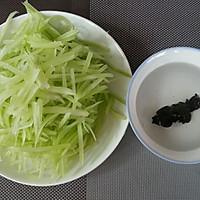 夏季凉菜~清淡爽口的呛莴笋的做法图解2