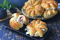香芋面包卷#跨界烤箱 探索味来#的做法