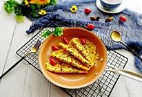 #精品菜谱挑战赛#快手早餐+葱花鸡蛋饼的做法