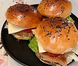 猪扒汉堡包的做法