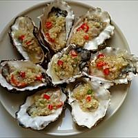 蒜蓉蒸生蚝#盛年锦食·忆年味#的做法图解4
