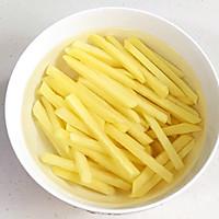 炸薯条的做法图解3