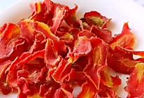 """#美食说出""""新年好""""#红红火火的胡萝卜干的做法"""
