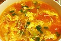 金针菇番茄蛋汤的做法