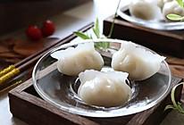 """#""""蒸""""功夫美食大赛# 晶莹剔透的水晶饺的做法"""