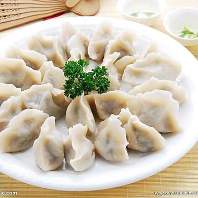 鸡肉韭菜水饺