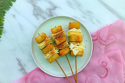 鱼豆腐包菜
