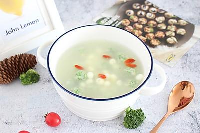 江南温婉【鸡头米虾丸汤】