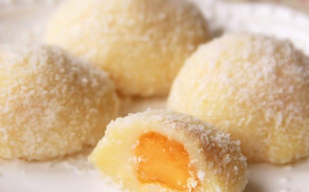 芒果香糯米糍#寻找最聪明的蒸菜达人#