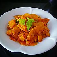 咸蛋黄焗南瓜的做法图解12