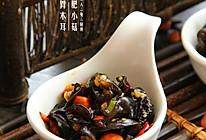 夏季开胃小菜:陈醋木耳花生的做法