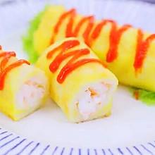 鲜虾吐司卷 #快乐宝宝餐#