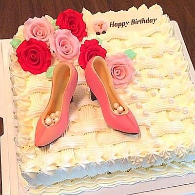 貌美如花生日蛋糕