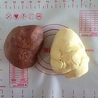 双色馒头的做法图解3