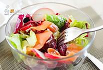 三文鱼沙拉#丘比轻食厨艺大比拼#的做法
