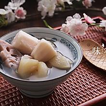 预防感冒的梨藕荸荠汤
