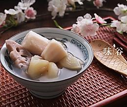 预防感冒的梨藕荸荠汤的做法