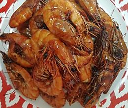 糖醋油焖虾的做法