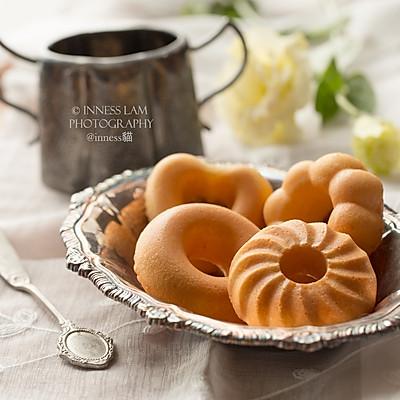 【蛋香原味甜甜圈蛋糕】