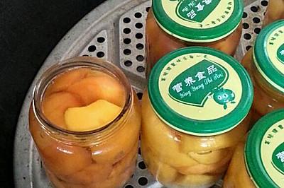 有机黄桃罐头