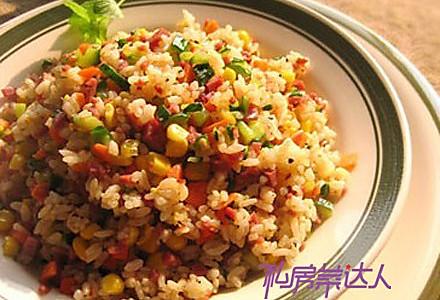 极品黑椒牛肉粒饭的做法