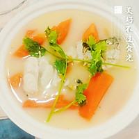木瓜鲈鱼汤的做法图解7