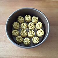 玫瑰花面包的做法图解5