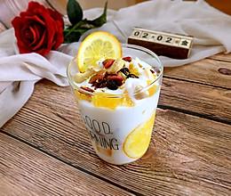 橙香酸奶杯的做法