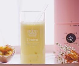 #今天吃什么#冬天来杯热饮【芒果百香奶昔】比卖的还好喝的做法
