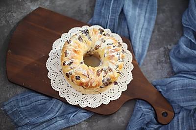 蔓越莓炼乳手撕面包