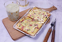 简易披萨+奶昔的做法