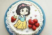 白雪公主生日蛋糕——长帝CKTF-32GS试用的做法