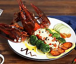 黄油焗波士顿龙虾的做法
