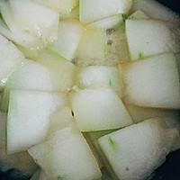 夏天必吃的~冬瓜炒肉的做法图解3
