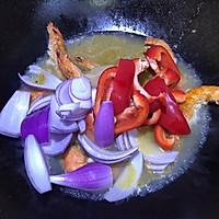 #一道菜表白豆果美食#芝士大虾的做法图解6