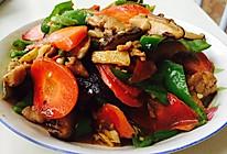 香菇胡萝卜炒肉的做法