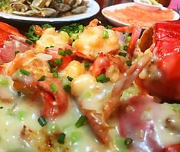 龙虾-芝士波士顿龙虾的做法
