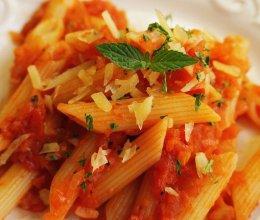 番茄酱意面的做法