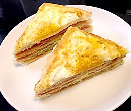 三明治 营养早餐宝宝最爱的做法