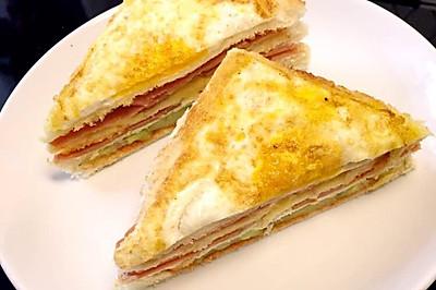 三明治 营养早餐宝宝最爱