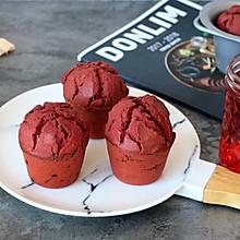 红曲蔓越莓马芬蛋糕
