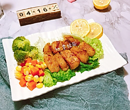 减脂餐:柠檬香煎巴沙鱼的做法