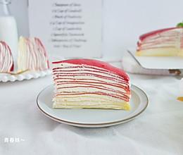 #硬核菜谱制作人#红丝绒千层蛋糕的做法