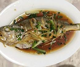 清蒸黄花鱼的做法